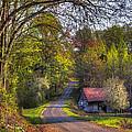 Country Lanes by Debra and Dave Vanderlaan