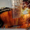 Country Music Digital Guitar Art By Steven Langston by Steven Lebron Langston