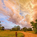 Country Road Into The Storm Front by James BO Insogna