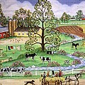 Country Scene by Linda Mears