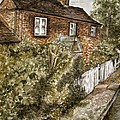 Old English Cottage by Teresa White