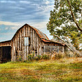 Farm - Barn - Country Time Barn by Barry Jones