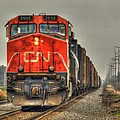 Country Train Hdr by Thomas Young