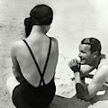 Couple On A Beach by George Hoyningen-Huene