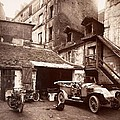Cour 7 Rue De Valence Eugene Aget 1922 by Vintage Printery