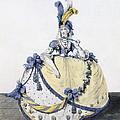 Court Dress, Fig. 106 From The Gallery by Nicolaus von Heideloff
