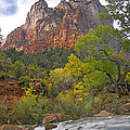 Court Of The Patriarchs Zion Np Utah by Tim Fitzharris