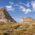 Courthouse And Jail Rocks - Bridgeport Nebraska by Brian Harig