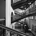 Courthouse Staircases by Inge Johnsson