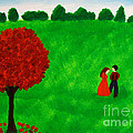 Courting Couple by Anita Lewis