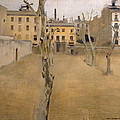 Courtyard Of The Old Barcelona Prison. Courtyard Of The Lambs by Ramon Casas