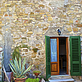 Courtyard Of Tuscany by David Letts
