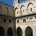 Courtyard - Palace Avignon by Christiane Schulze Art And Photography