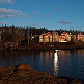 Cove Point Lodge by James Peterson
