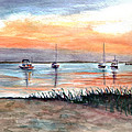 Cove Sunrise by Clara Sue Beym