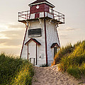 Covehead Harbour Lighthouse by Elena Elisseeva