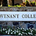 Covenant College Sign by Tara Potts