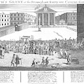 Covent Garden Theatre Is Built by Mary Evans Picture Library