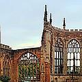 Coventry Cathedral Ruins Panorama by Dan McManus