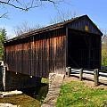 Jediha Hill Covered Bridge In Mt. Healthy by Kathy Barney