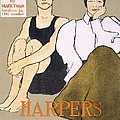Cover Of Harpers Magazine, 1896 by Edward Penfield