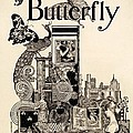 Cover Of The Butterfly Magazine by English School
