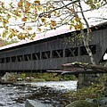 Covered Bridge Albany by Christiane Schulze Art And Photography