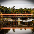 Covered Bridge Conway New Hampshire by Michael Donovan