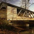 Covered Bridge by Wes and Dotty Weber