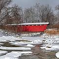 covered bridge Everett rd. by Daniel Behm