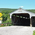 Covered Bridge For Pedestrians by Susan Wyman