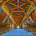 Covered Bridge Indiana by David Haskett II