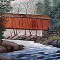 Covered Bridge by June Weaver