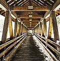 Covered Bridge Littleton New Hampshire by Glenn Gordon