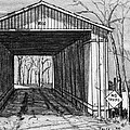 Covered Bridge by Robert Tracy