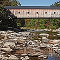 Covered Bridge Vermont by Edward Fielding