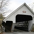 Covered Bridge - Woodstock by Christiane Schulze Art And Photography