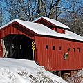 Covered Covered Bridge by Janice Adomeit