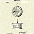 Covered Dish 1915 Patent Art by Prior Art Design