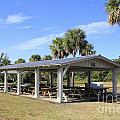 Covered Picnic Tables by Lee Serenethos
