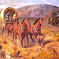 Covered Wagon by Parsons