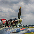Covers Off Hawker Hurricane by Chris Thaxter