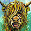 Cow Face 101 by Linda Mears