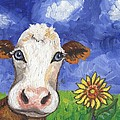 Cow Fantasy One by Linda Mears