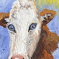 Cow Fantasy Three by Linda Mears