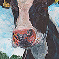 Cow No 05. 0556 Irish Friesian Cow by Dermot OGrady