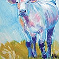 Cow Painting by Mike Jory