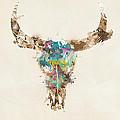 Cow Skull by Bri Buckley