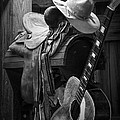 Cowboy Acoustic Guitar by Randall Nyhof