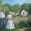 Cowboy And The Lady by Wanda Coffey